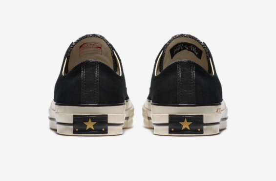 9c4bb2be897 NBA legend Bill Russell is honored here with this Converse Chuck 70 Low 30  and 40 commemorating his 30 point 40 rebound performance that secured the  1962 ...