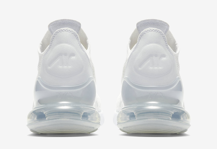 "6f39c1457a26 Nike Air Max 270 Flyknit ""Triple White"". by SoleGRIND June 14"