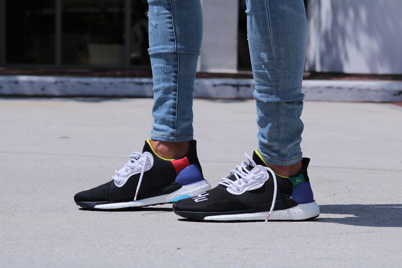 d2581c4f6e7 Pharrell Williams x adidas Solar Hu Glide St Black. by SoleGRIND July 27