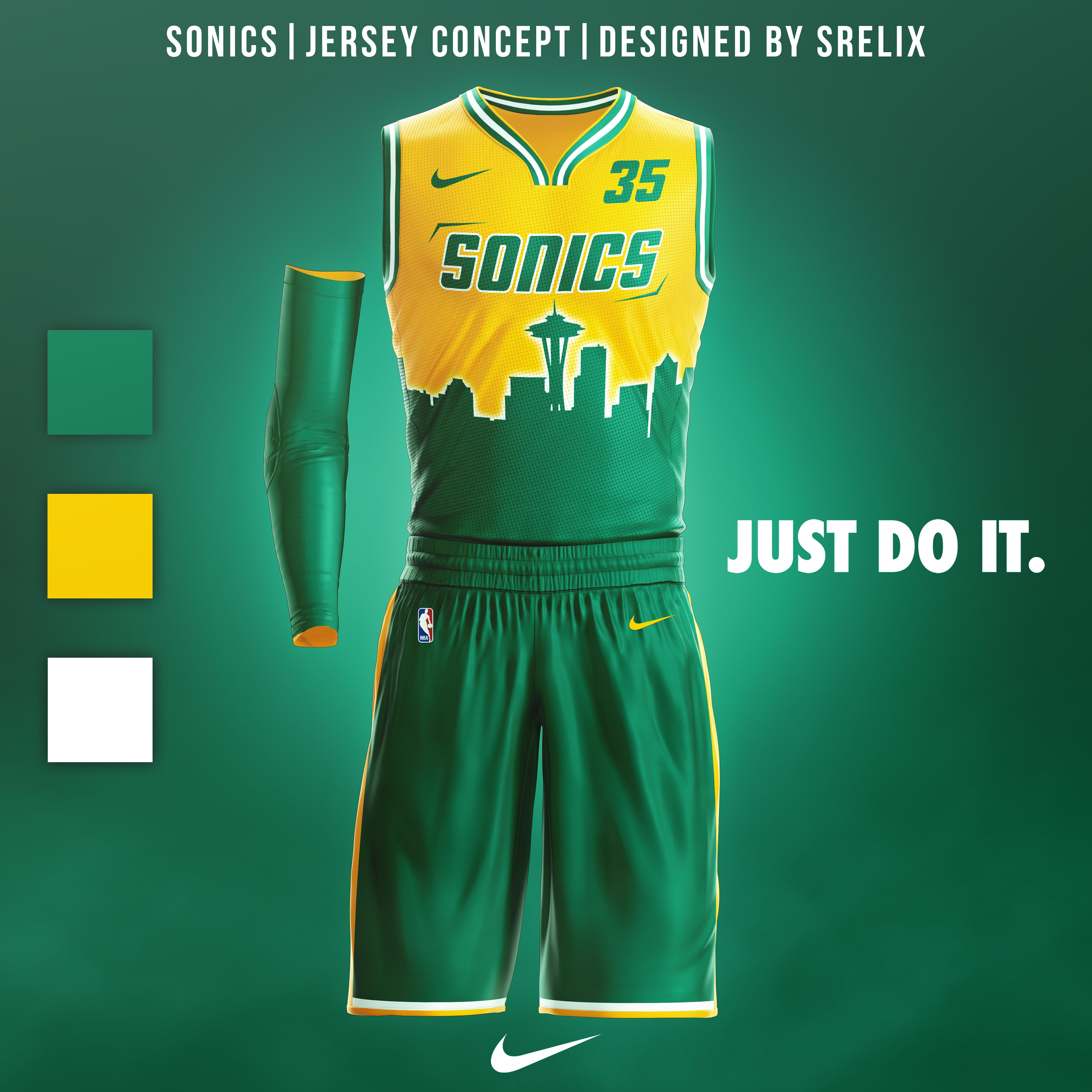 size 40 28118 15471 NBA Uniform Concepts from Mikey Halim @Srelix