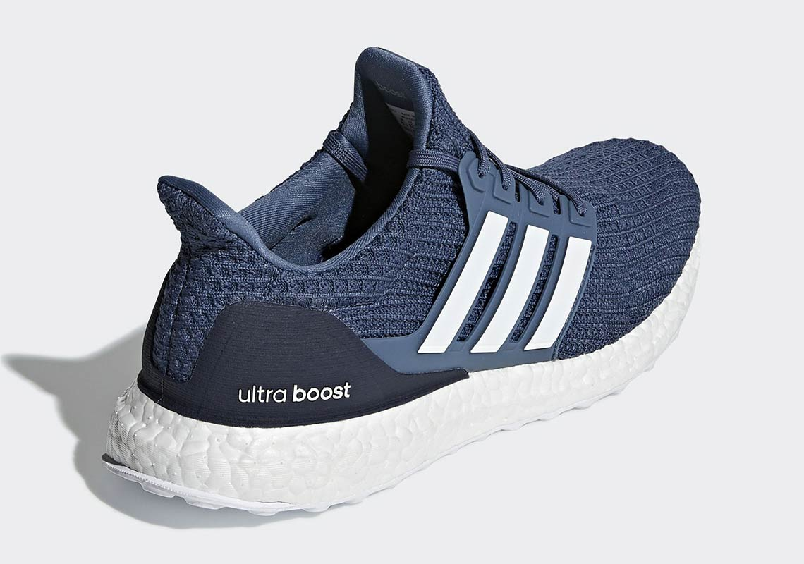 Adidas Men's ULTRA BOOST 4.0 Running Shoes Navy/Multi color
