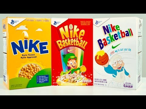 """quality design 33c28 ae4af UNBOXING: SPECIAL Edition Nike Kyrie 4 """"Cereal"""" SNEAKER Pack ..."""