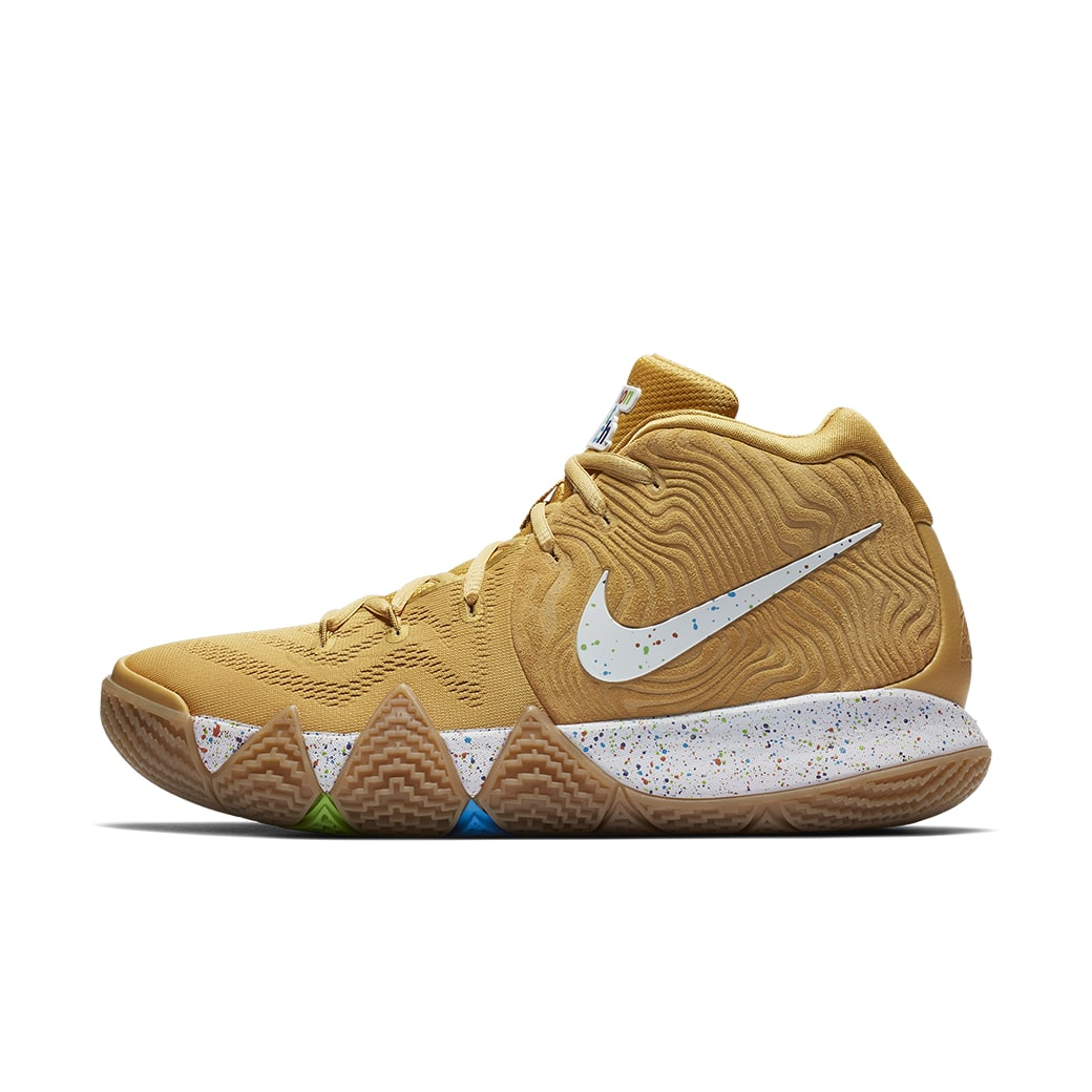 """fb0180a8d481 UNBOXING  SPECIAL Edition Nike Kyrie 4 """"Cereal"""" SNEAKER Pack Review –  SoleGRIND"""