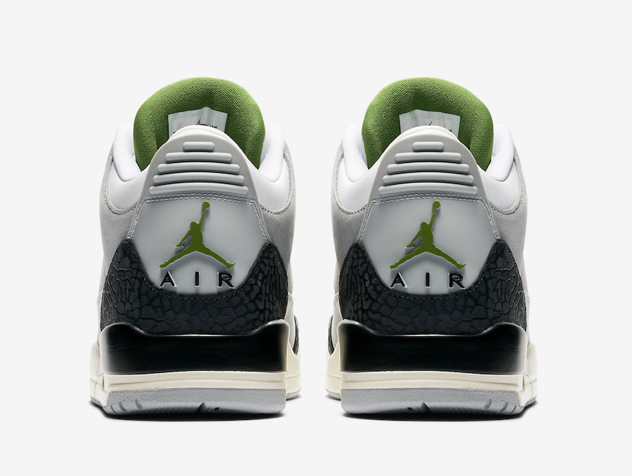 "d4ac72f6138f The Air Jordan 3 Tinker ""Chlorophyll"" is coming November 10th"