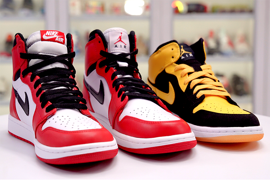 size 40 cba44 dc3b2 Know Your Heights  All The Differences Between The Air Jordan 1 Mid, High,  and High OG – SoleGRIND